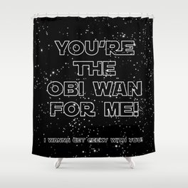 Star Crossed lovers 3 Shower Curtain