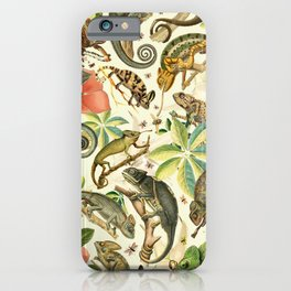 Chameleon Party iPhone Case