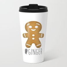 #Ginger Metal Travel Mug