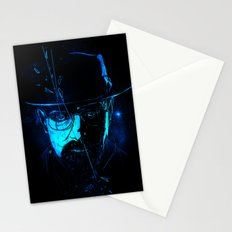 Mr. White (Crystal Blue) Stationery Cards