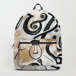 HAND-LETTERED Salt & Light Backpack