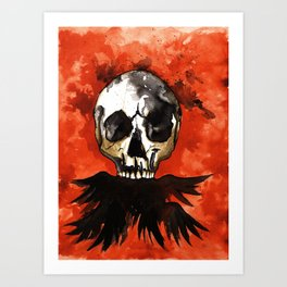 Scatterbrained Art Print