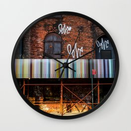 Morning Love - Brooklyn NY Wall Clock