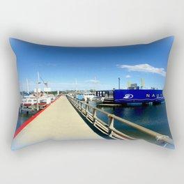 Floating Restaurant Rectangular Pillow