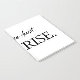 I'll rise #minimalism 2 Notebook