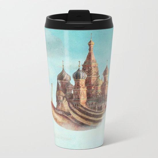 The Snail's Daydream Metal Travel Mug