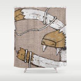 FuFu & SquidWhale Shower Curtain