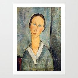 "Amedeo Modigliani ""Girl in a Sailor's Blouse"" Art Print"
