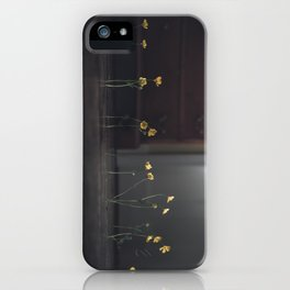 Flowers on the Floor iPhone Case