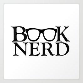 Book Nerd Art Print