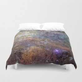 Galaxy Series: Number Four Duvet Cover
