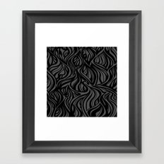 Back to Gray 1 Framed Art Print