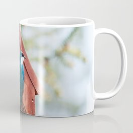 Blue Swallow Photography Print Coffee Mug