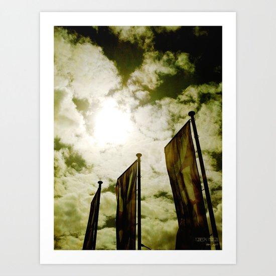 Feed me Clouds Art Print