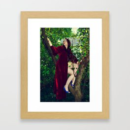 In my Queendom... Framed Art Print