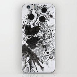 the blotter pad iPhone Skin