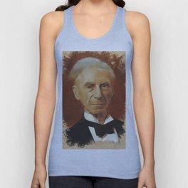 Bertrand Russell, Philosopher Unisex Tank Top