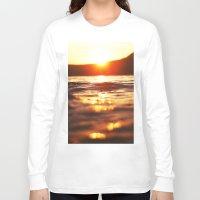 lake Long Sleeve T-shirts featuring Lake by Meg Hartley Photography