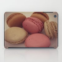 macaroon iPad Cases featuring macaroon by  Alexia Miles photography