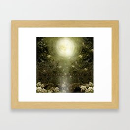 The Great Lie, Forest Framed Art Print