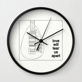 Joy Division Tore Us Apart #002 Wall Clock