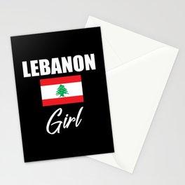 Lebanon Girl Stationery Cards