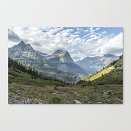 Catching a View from Going to the Sun Road Canvas Print