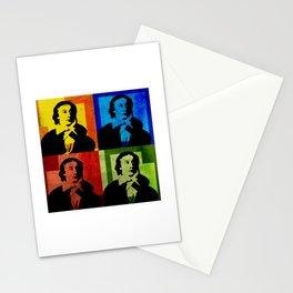 JOHN KEATS, 4-UP POP ART COLLAGE Stationery Cards
