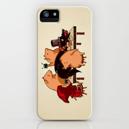 Dinner With Friends iPhone Case