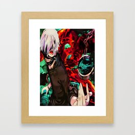 kaneki Framed Art Print