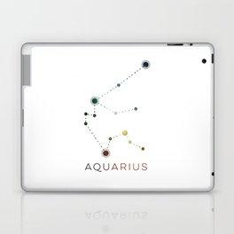 AQUARIUS STAR CONSTELLATION ZODIAC SIGN Laptop & iPad Skin