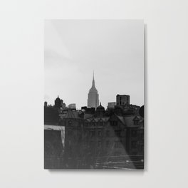 Empire State Building Manhattan in New York City Metal Print