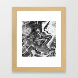 Liquid Marble Framed Art Print