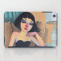 chelsea iPad Cases featuring chelsea by lindsay petrick