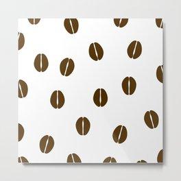 Aromatic Coffee beans Metal Print