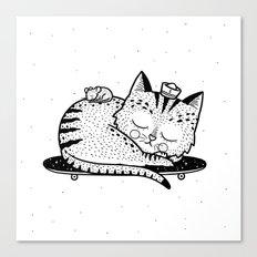 Scat or Die Canvas Print