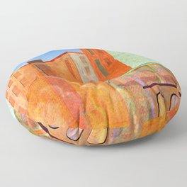 maghreb colors Floor Pillow