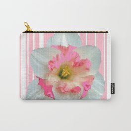 PINK ECTACY FLORAL PATTERNS Carry-All Pouch