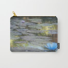 Water Lilies Afloat Carry-All Pouch