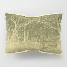 Agitation in the forest Pillow Sham