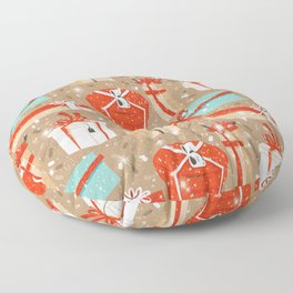 Christmas Gifts Floor Pillow