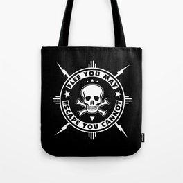 FLEE...(HARDCORE VERSION) Tote Bag