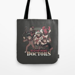 Society of Adventuring Doctors Tote Bag