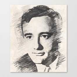 Robert Vaughn Canvas Print