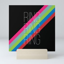 ring ring ring Mini Art Print