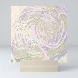 Spring Chicken Sonic Swirl Mini Art Print