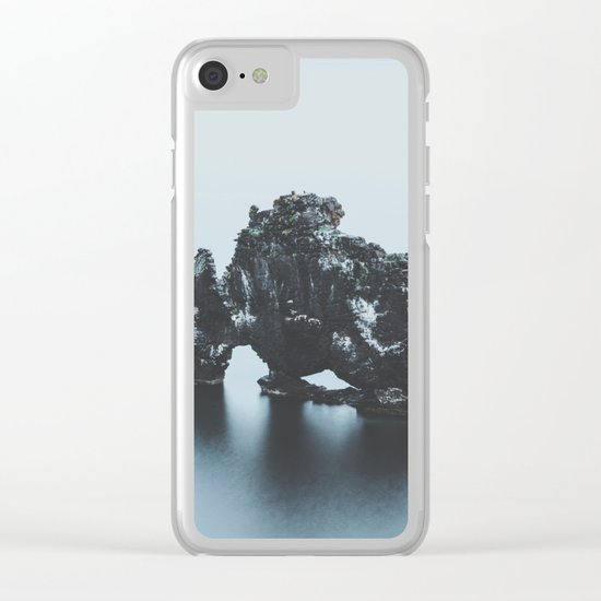 Hvitserkur, Iceland Clear iPhone Case