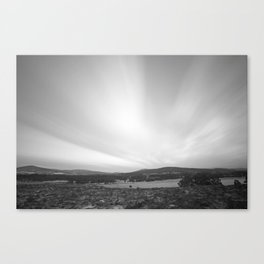 The Shifting Sky Canvas Print