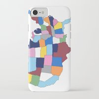 usa iPhone & iPod Cases featuring USA by Project M