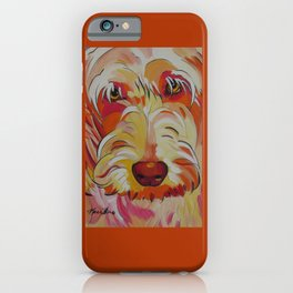 Labradoodle Pop Art Dog iPhone Case